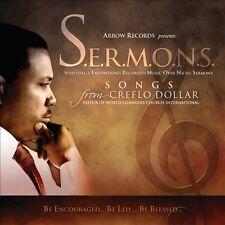 SERMONS (CD) Songs from Creflo Dollar S.E.R.M.O.N.S.  (SEALED, NEW) Shelf GS 4