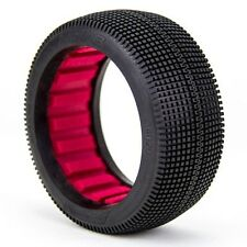 AKA Racing 1:8 Buggy Zipps (Soft) Tires w/ Red Foam (2) - AKA14020SR