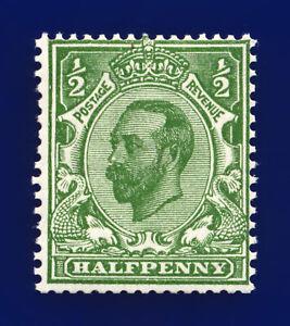 1912-SG335-d-Green-Die-B-wmk-SC-N3-1-MNH-Cat-90-clib
