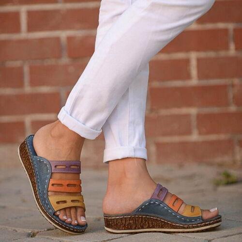 -75/% BESTWALK Tri Color Orthopedic Sandal 2019 NEW STYLE COMFYSANDALS