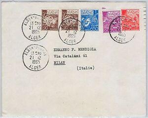 Agricolture-Algeria-STORIA-POSTALE-Cover-in-Italia-1965