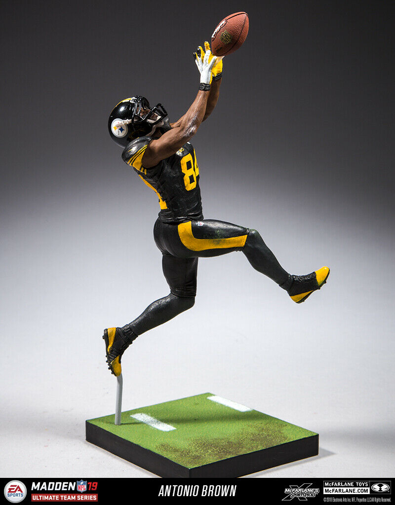 McFarlane Antonio Brown (Pittsburgh Steelers) EA Sports Madden NFL 19