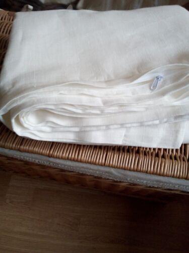 Duvet cover Zipper Closure 100/% flax Super White Natural Gray Brown
