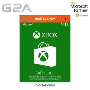 $10 XBOX Live 10 USD Gift Code - Microsoft Xbox One / Xbox 360 - 10 Dollars [US]