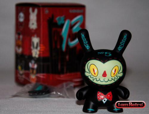 """Mr Gloom #5 The 13 Dunny Series by Brandt Peters x Kidrobot 3/"""" Fig Mint in Box"""
