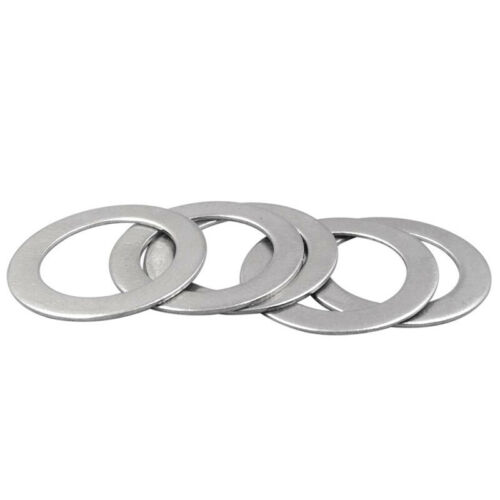 M26 ultra-thin washer gasket SUS304 washers enlarged 0.8mm thick 38-47mm 15pcs