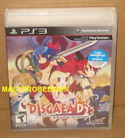 Ps3 Disgaea D2 A Brighter Darkness Bundle Sealed (soundtrack & Art Print)