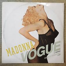 "Madonna Vogue 12"" Vinyl Single 1990 Sire – W9851 (T)"