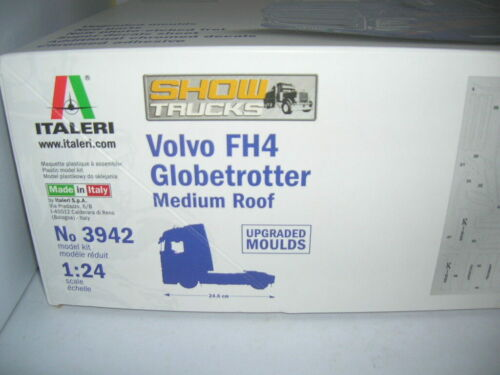 Italeri Volvo FH4 Globetrotter Medium Roof LKW Truck 1:24 Bausatz Model Kit 3942