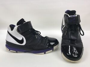 8a221fc5d3c7 2007 Nike Zoom KOBE II 2 ST STRENGTH ORCA BLACK WHITE PURPLE 316835 ...