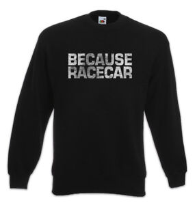 Sweathirt Perché Fun Head Love Car Car Racing Driver Pullover Racecar Benzina CCwq51r