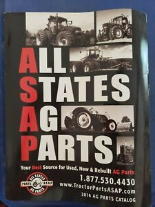 Details about All States Ag Parts - 2016 Parts Catalog