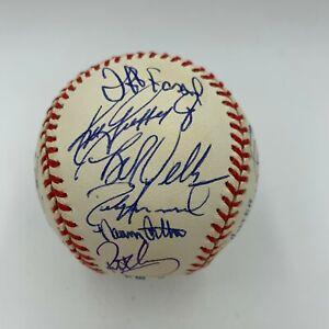 Ken Griffey Jr. & Alex Rodriguez 1998 Seattle Mariners Team Signed Baseball PSA