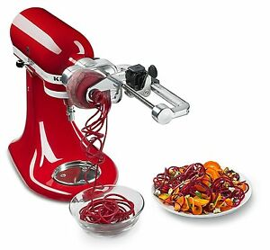 KitchenAid-KSM2APC-Spiralizer-Plus-Attachment-with-Peel-Core-and-Slice-Silver