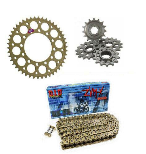 DID X-Ring 525ZVMX Chain /& JT Sprocket Kit 17//41 KTM SM 950 LC8 2007-2008