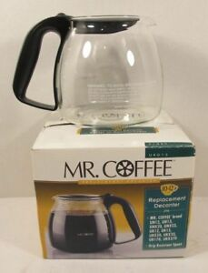 Mr Coffee Urd13 12 Cup Replacement Decanter Black