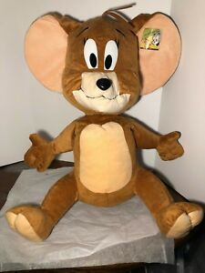 "NEW WITH TAGS  JERRY 9/""  PLUSH DOLL HANNA BARBERA TOY"