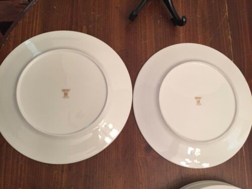 """Oxford by Lenox /""""SPECIAL/""""  Gold Trim China  ~ Set of 2 ~ Dinner Plates ~ 10 3//4/"""""""