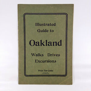 1900-Oakland-Maryland-Travel-Guide-Book-Baltimore-amp-Ohio-Railroad-B-amp-O-MD