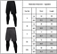 Herren Kompressions Leggings Sport Laufhose Baselayer Trainings Gym Trainieren