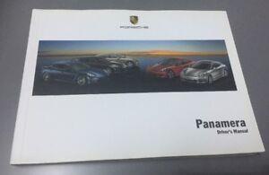 GENUINE-PORSCHE-PANAMERA-970-OWNERS-MANUAL-HANDBOOK-2010-2016-S-4-4S-TURBO-V6-V8
