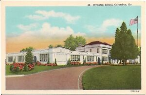 Wynnton-School-in-Columbus-GA-Postcard