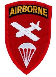 Patch Airborne Rouge Ecusson Us Army Militaire Paratrooper Parachute Eiugvt02-08001159-932395935