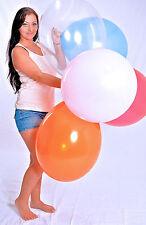 "10x EZ-Loon 50cm Ø = 20"" Riesen- Luftballons - 10x 155er Riesen- Ballon"