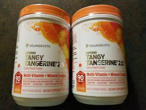 BEYOND-TANGY-TANGERINE-2-0-Citrus-Peach-Fusion-FREE-SHIPPING-DOUBLE-PACK