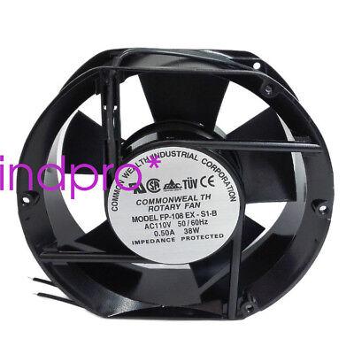 For Ebmpapst 8414N//2G 8025 24V 85mA 2W Trilinear Velocity Fan