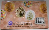 Wilton Doughnut Donut Hole 2 Piece Baking Set Pan & Cooling Grid Makes 20