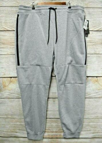 Southpole Mens Size 5X 5XL 5XB Grey Zipper Fleece Sweat Skinny Jogger Pants New
