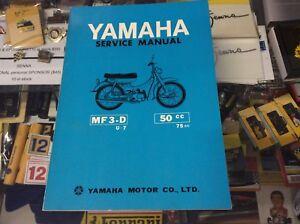 YAMAHA-ORIGINAL-SERVICE-MANUAL-MF3-D-EXCELLENT-CONDITION