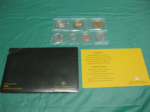 2008 Canada Prooflike Set incl Envelope and COA