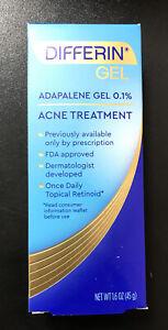 Differin Adapalene Gel 0 1 Topical Retinoid Acne Treatment 1 6oz