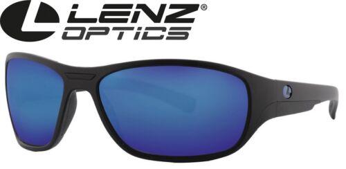 Brille für Angler Lenz Optics Rogue Discover Sunglasses Black Matt Polbrille
