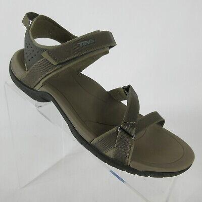 Teva Verra Suri Black Multi Womens Ankle Strap Slingbacks Strappy Sandals