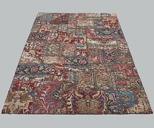 Strengthening Waist And Sinews Charitable Multi Colored Turkish Patchwork Carpet Rug Rectangle Wool Handmade Rug 7x10ft Rugs & Carpets