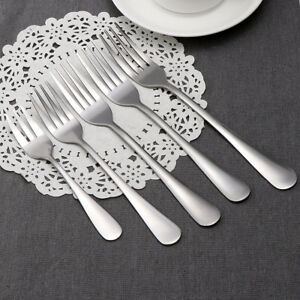 1-5pcs-Fruite-Dessert-Kitchen-Tools-Meal-Tableware-Lunch-Fork-Stainless-Steel