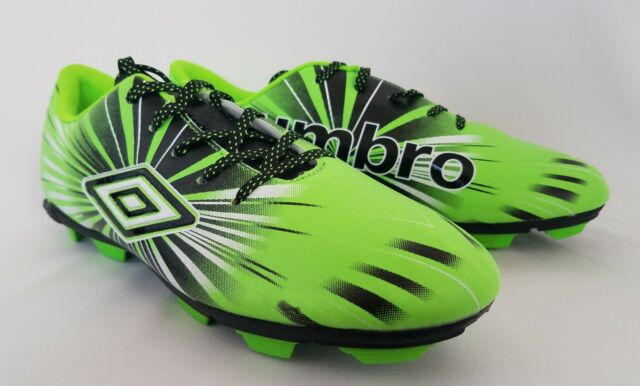 Umbro Youth Green Soccer Shoes Size 12k