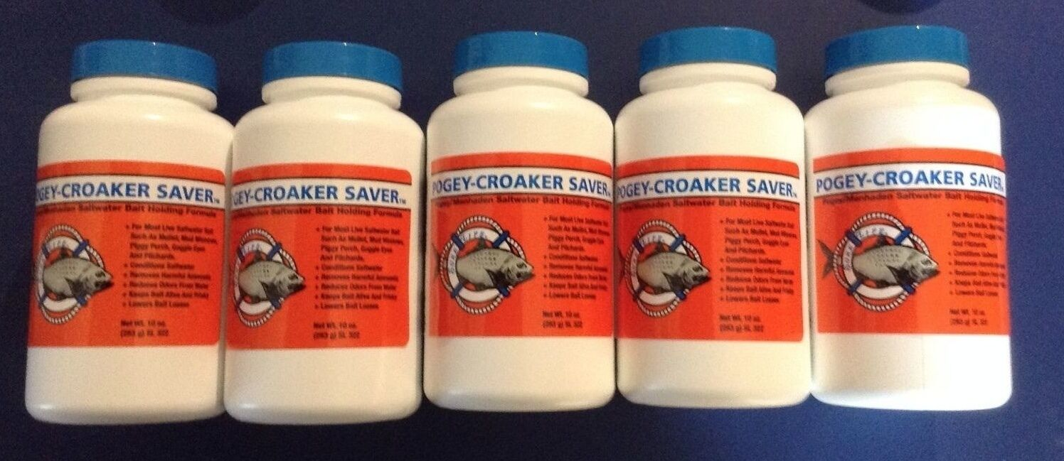 SURE LIFE LEGEND CHRISTMAS Wholesale Sale POGEY-CROAKER SAVER   SAVER X5 10 oz. Bottles e43d8a