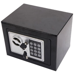 Functiona-Electronic-Safe-Box-Keypad-Lock-Security-Home-Office-Gun-Valuables