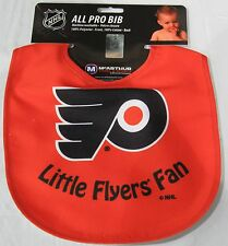 NHL NWT INFANT BABY BIB  - NEW JERSEY DEVILS - ALL RED