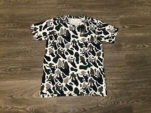 corruzione professionista Sei  ADIDAS x NERD Pharrell FreeLift Prime Grey Camo T-Shirt Climalite NEW  DH1179   eBay