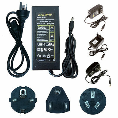 60W 220V DC 12V 2 3 5 6 7 8A Power Supply AC adaptor Line Office for LED Lights