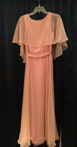 Vintage 70s Miss Elliette California Dress, Size 1