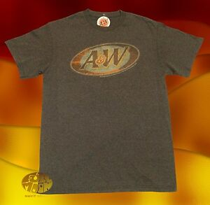 New-A-amp-W-Rootbeer-Mens-Brown-Classic-Retro-T-Shirt
