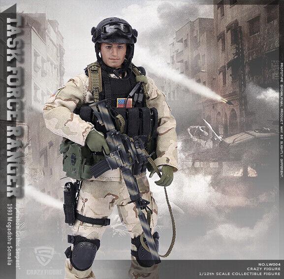 Fuerza Delta CrazyFigura LW004 nos precisión Sagitario-Rangers Somalia 1 12 Fig