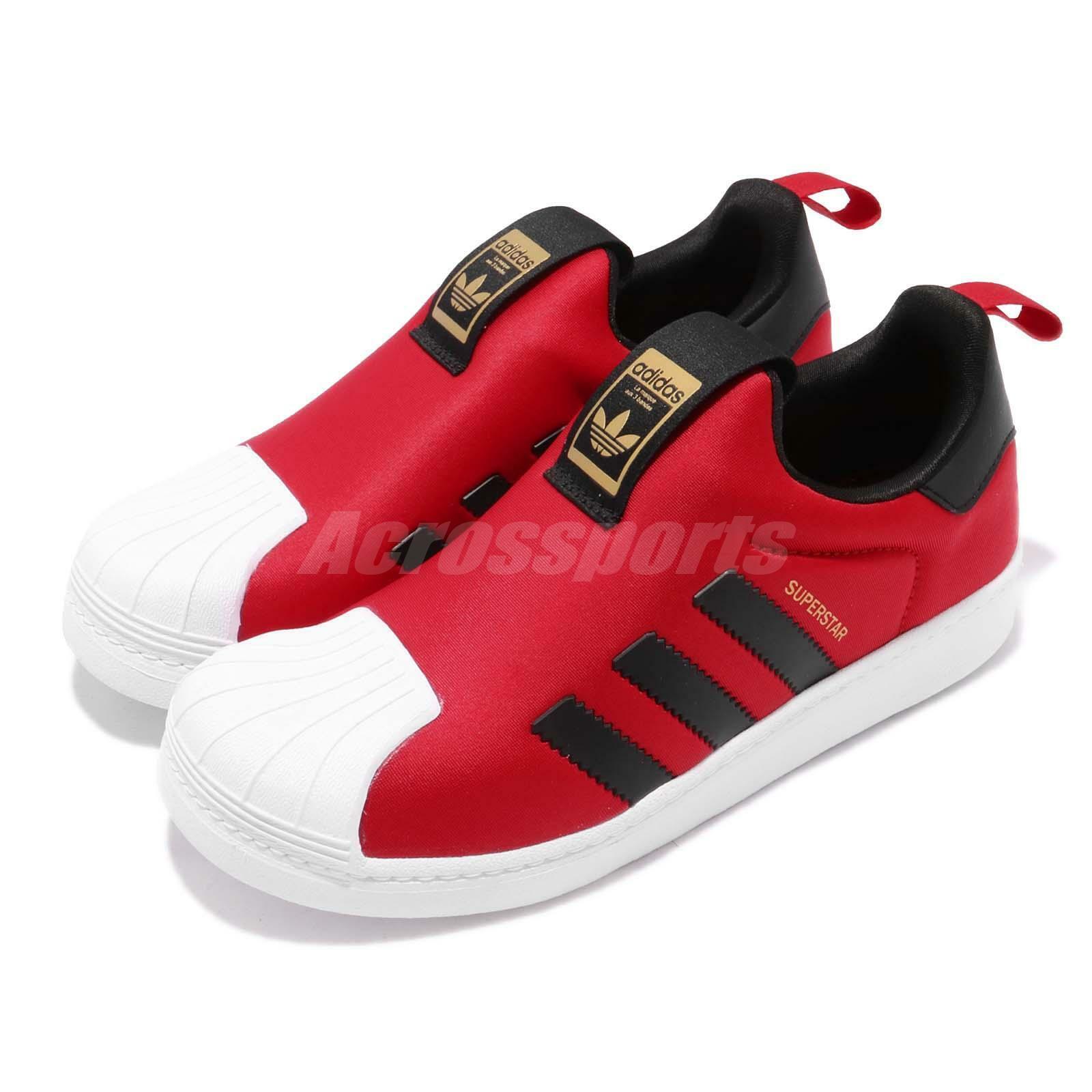 Adidas Superstar  360 C Anno del Pig rosso nero CNY Kids Scarpe Casual CG6573  conveniente