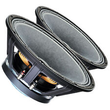 "Pair Celestion FTR15-4080F 15"" Professional Speaker 8 ohms 1,200W 97 dB 4"" Coil"